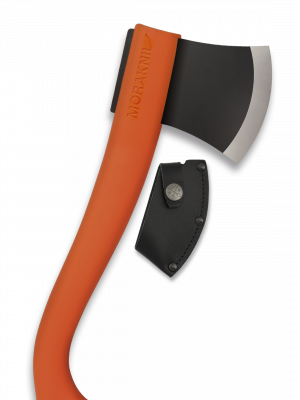 Hacha Morakniv outdoor Color Naranja. Tamaño total 33cm. Funda rígida