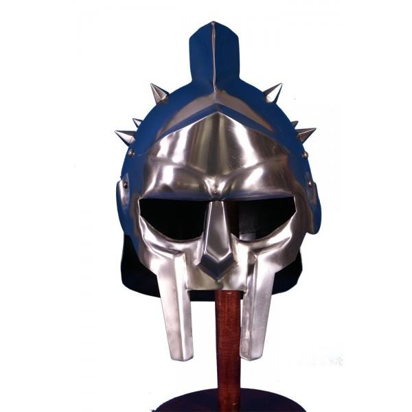 Casco Gladiador de tamaño natural, ligero y funcional