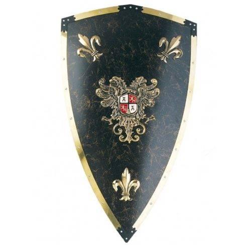 Escudo metal Carlos V