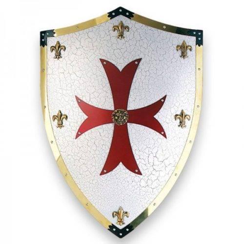 Escudo metal Cruzados