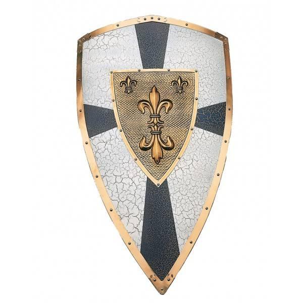 Escudo metal Carlomagno
