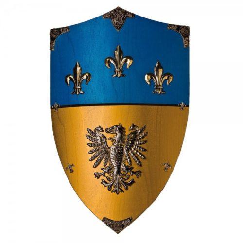 Escudo madera Carlomagno