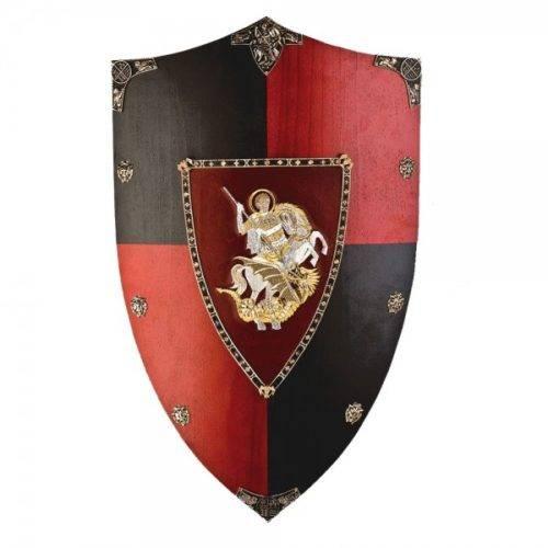 Escudo madera Príncipe Negro