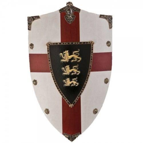 Escudo madera Ricardo Corazón de León