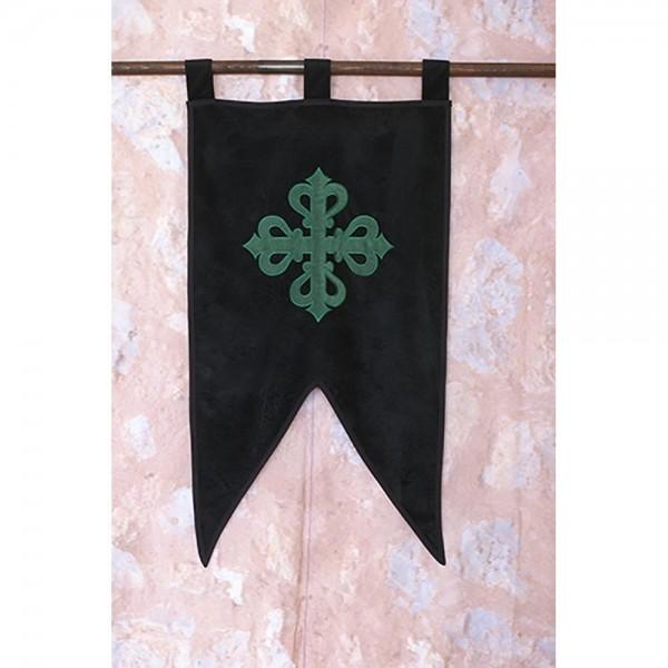 Estandarte medieval de la Orden de Alcántara.
