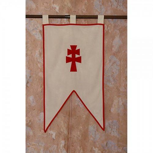 Estandarte medieval Orden de Caravaca.