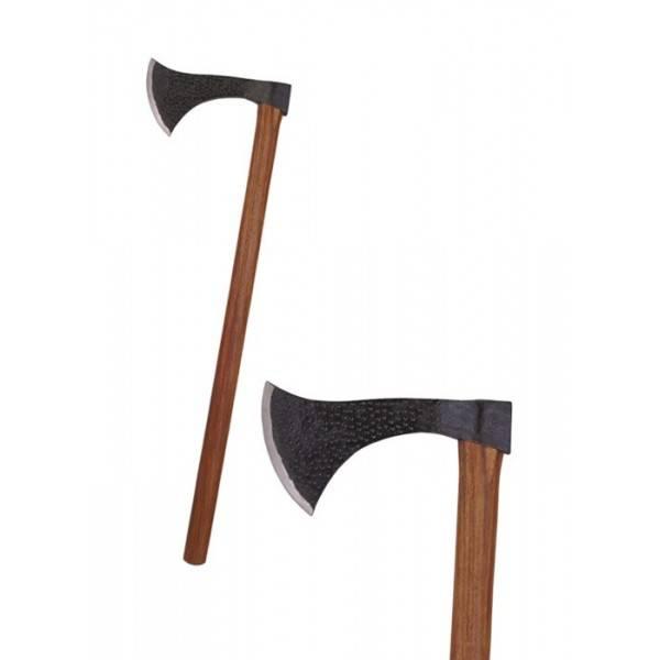 Hacha medieval Francisca. Medida 81 cm. Peso 1,6 kg