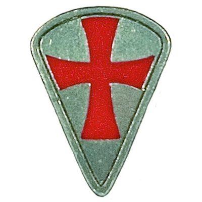 Colgante Escudo Templario